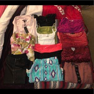 Plus size clothing bundle of 12
